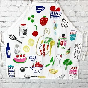 kate spade Pretty Pantry Cooking Apron Multicolor